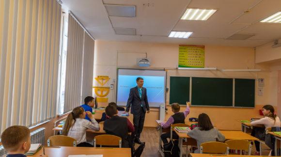 Профилактическое мероприятие с пятиклассниками школы №34 села Березняки Сахалинской области