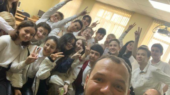 «Живое слово» для ребят 6 класса сочинской школы №10