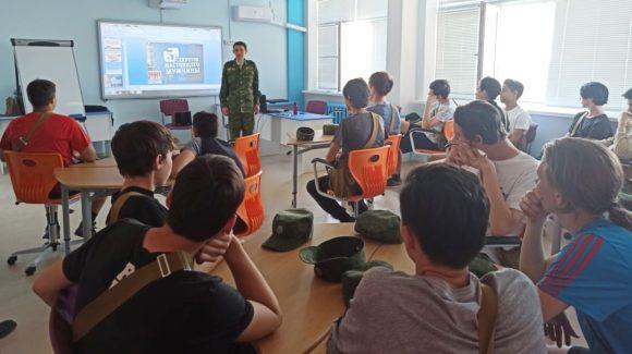Занятие «Пять секретов настоящего мужчины» на учебных военных сборах в г.Агидель