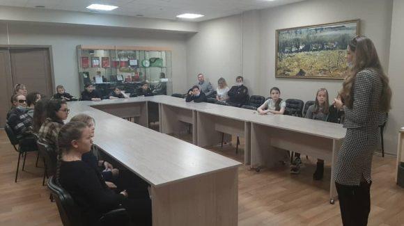Беседа о вреде курения в Доме дружбы народов г.Красноярска