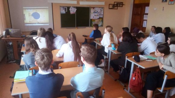 6 профилактических уроков в школе №43 г.Волгограда