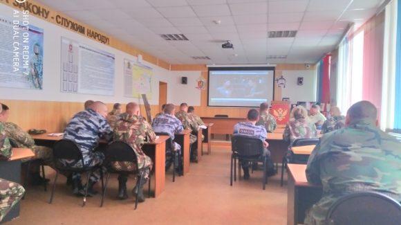 Встреча с подразделением полиции ОМОН в 5-м Гвардейском Зенитно-Ракетном полку в г.Иваново