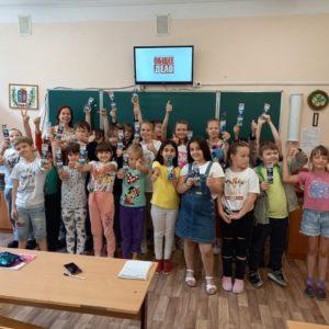 Встреча с ребятами лагеря «Солнышко» при школе №83 г.Ростова на Дону