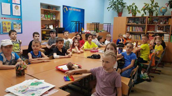 Волонтёр «Общего Дела» провёл своё первое занятие в пришкольном лагере сочинской школы №13