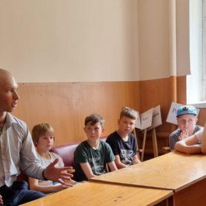 Встреча с детьми детско-юношеской спортивной школы г.Родники Ивановской области