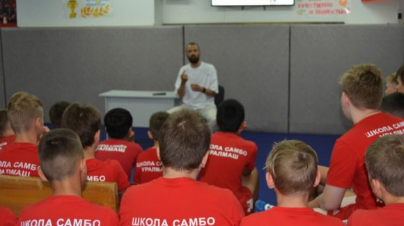 Встреча участников Летнего тренировочного сбора-2021 школы самбо «УРАЛМАШ» с представителем «Общего Дела» в Екатеринбурге