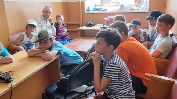 Очередная встреча с детьми детско-юношеской спортивной школы г.Родники