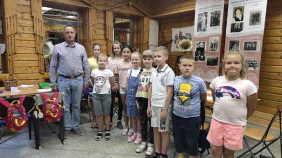 Встреча с ребятами в детском досуговом клубе «Умные каникулы» г.Кириши