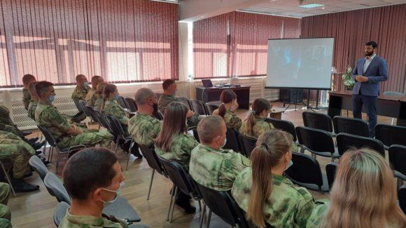 Мероприятие для личного состава стрелкового батальона охраны Белоярской атомной электростанции в г.Заречном