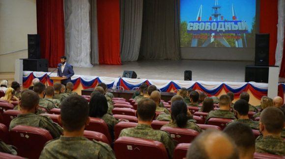 Встреча с военнослужащими 42-й Тагильской ракетной дивизии ЗАТО Свободный
