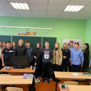 Шесть встреч в великоустюгской школе №9