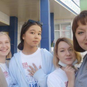 Занятия с командой добровольцев в Центре глобального образования г.Якутска
