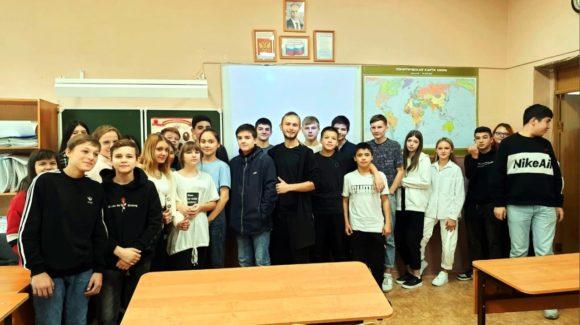 Занятия «Общего Дела» для старшеклассников самарской школы №141