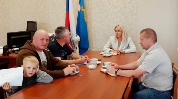 Встреча с главой администрации Яранского района Кировской области