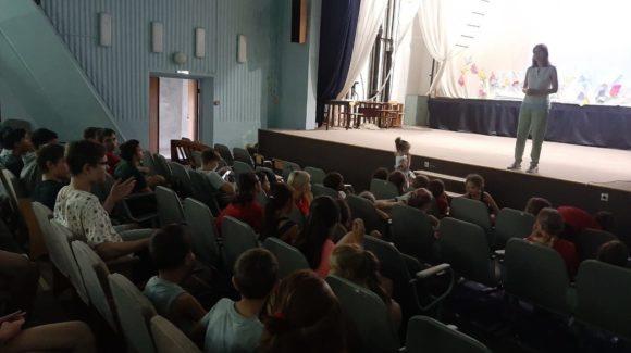 Две профилактические лекции в детском лагере «Санта» Лаишевского района Республики Татарстан