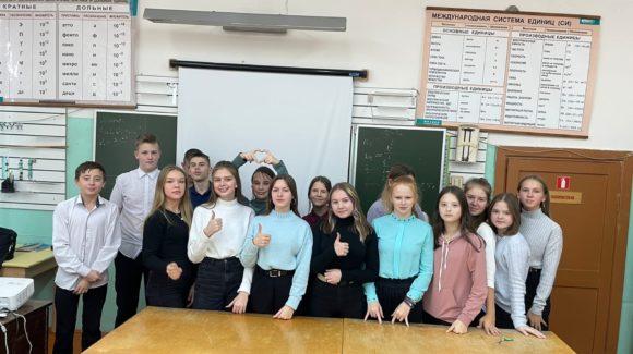 Встречи с ребятами в двух школах города Красавино