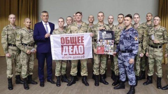 Профилактическая беседа для военнослужащих войсковой части 3186 Отдельной дивизии оперативного назначения им.Дзержинского
