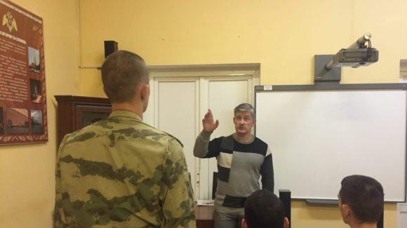 Профилактические занятия для офицеров спецназа