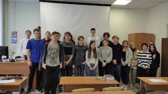 Профилактические занятия в Череповецком металлургическом колледже имени академика И.П. Бардина