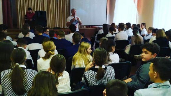 Возобновилась работа с учениками школы №7 г.Альметьевска