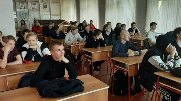 «Общее Дело» в Череповецком строительном колледже имени А.А. Лепехина